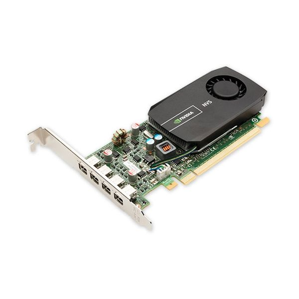 PNY Quadro NVS 510 Graphic Card - 2 GB DDR3 SDRAM - Low-profile - Single Slot Space Required