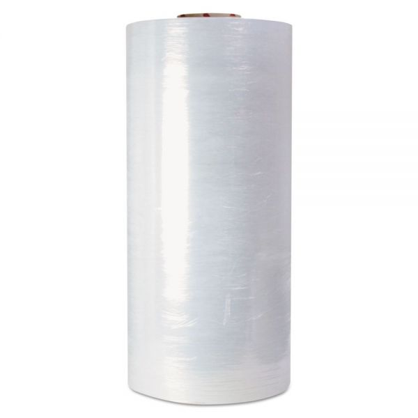 "Universal High-Performance Pre-Stretched Handwrap Film, 16"" x 1500ft, 32-Ga, Clear, 4/CT"