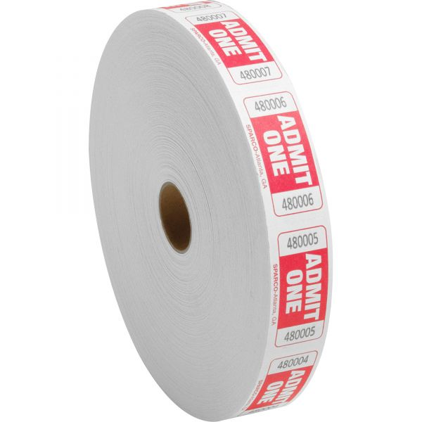 Sparco Roll Tickets