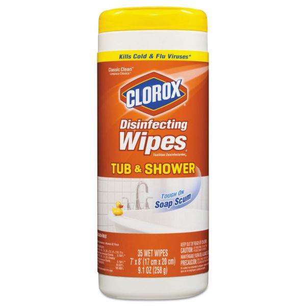 Clorox Tub and Shower Disinfecting Wipes