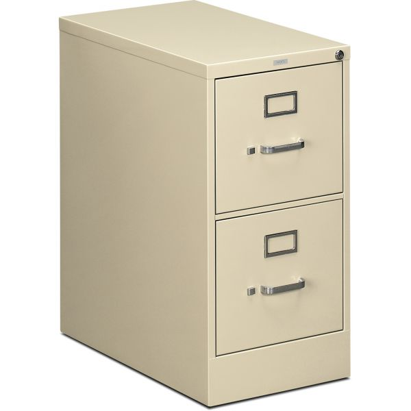 HON 510 Series 2 Drawer Locking Vertical File Cabinet