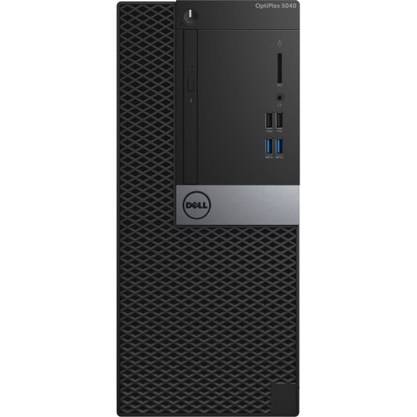 Dell OptiPlex 5040 Desktop Computer - Intel Core i7 - Mini-tower - Black