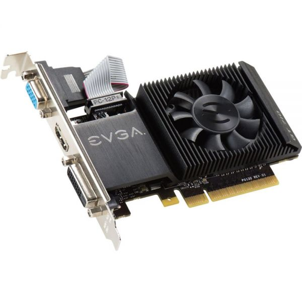 EVGA GeForce GT 720 Graphic Card - 954 MHz Core - 1 GB DDR3 SDRAM - PCI Express 2.0 x16 - Low-profile - Single Slot Space Required