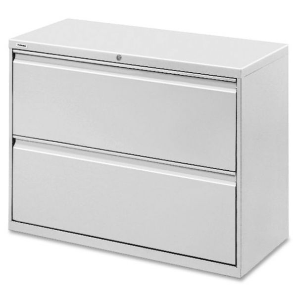 Lorell 2 Drawer Lateral File Cabinet
