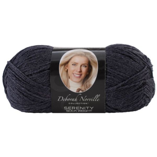 Deborah Norville Collection Serenity Sock Yarn - Navy