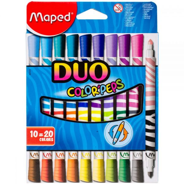 Color'Peps Duo Tip Ultra-Washable Markers
