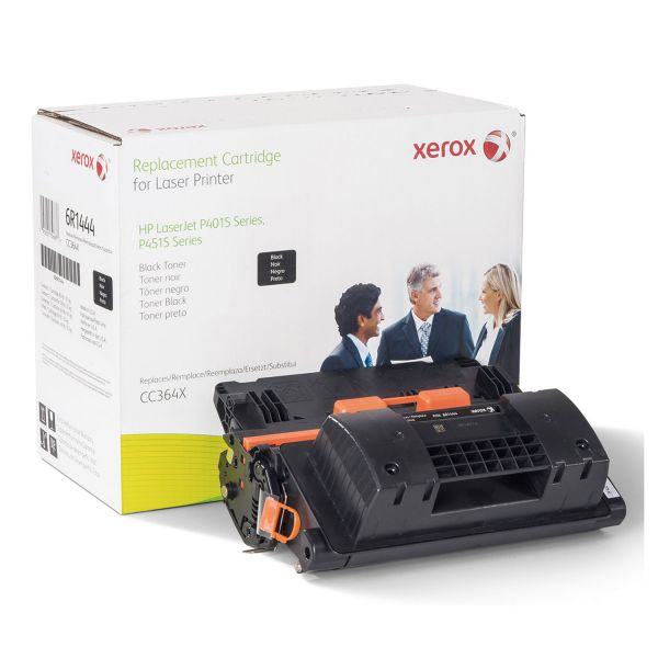 Xerox Remanufactured HP CC364X Black Toner Cartridge