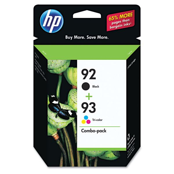 HP 92/93 Combo Pack Ink Cartridges (C9513FN)