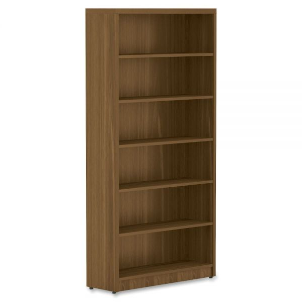 Lorell Chateau 6-Shelf Bookcase