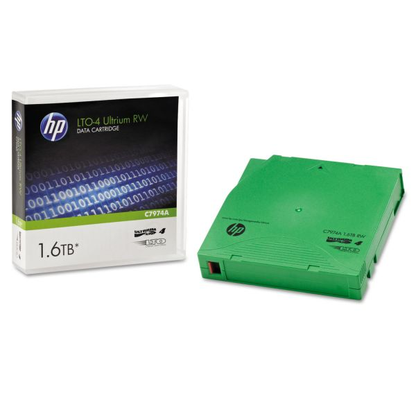 HP LTO4 Ultrium 1.6TB Data Rewritable Cartrdige