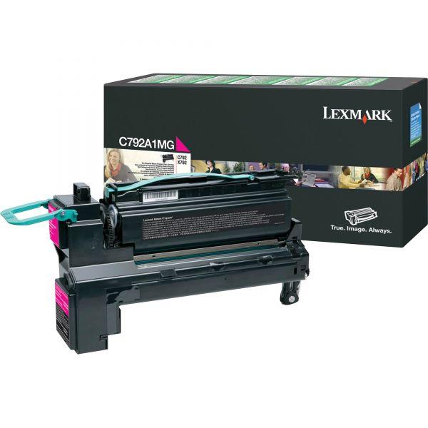 Lexmark C792A1MG Magenta Return Program Toner Cartridge