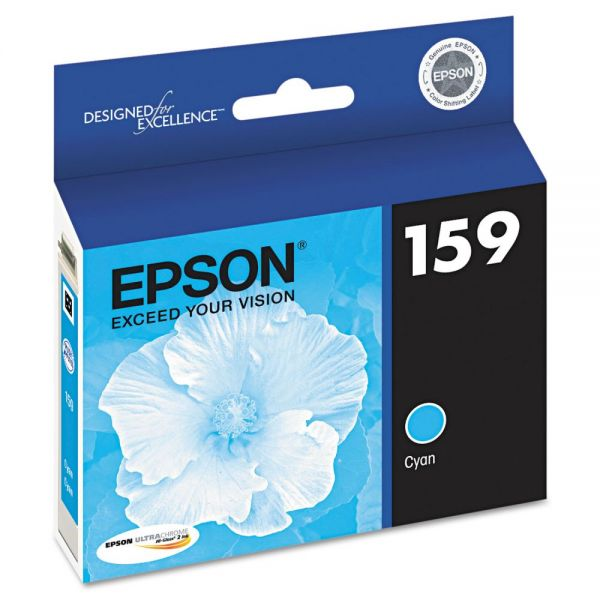 Epson 159 Cyan Ink Cartridge (T159220)