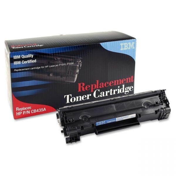IBM Remanufactured HP CB435A Black Toner Cartridge