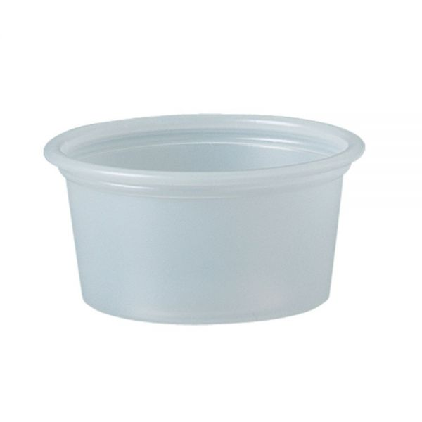 SOLO Cup Company Polystyrene 0.75 oz Portion Cups