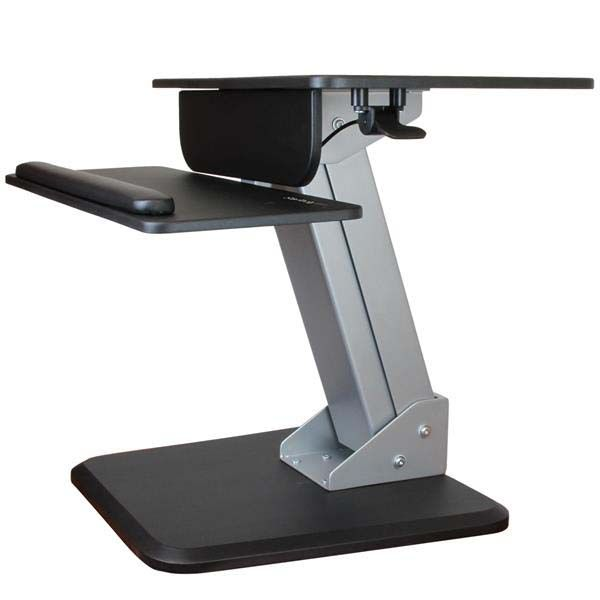 StarTech.com Sit-to-Stand Workstation with One-Touch Height Adjustment