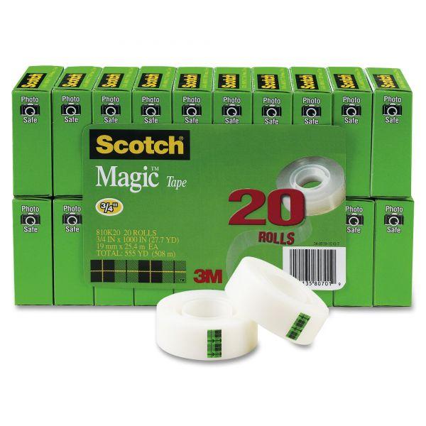 """Scotch 3/4"""" Magic Tape Refills Value Pack"""