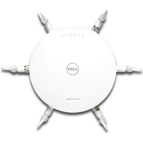 Dell SonicPoint N2 with PoE Injector, includes 1-Yr 24x7 Support