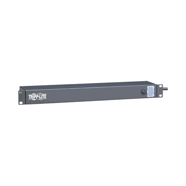 Tripp Lite Power Strip Rackmount Metal 120V 5-15R 6 Rear Face Outlet 1URM