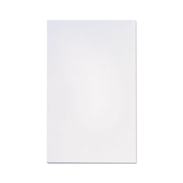 Universal Scratch Pads, Unruled, 5 x 8, White, 12 100 Sheet Pads/Pack