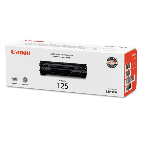 Canon CRG-125 Black Toner Cartridge (3484B001)