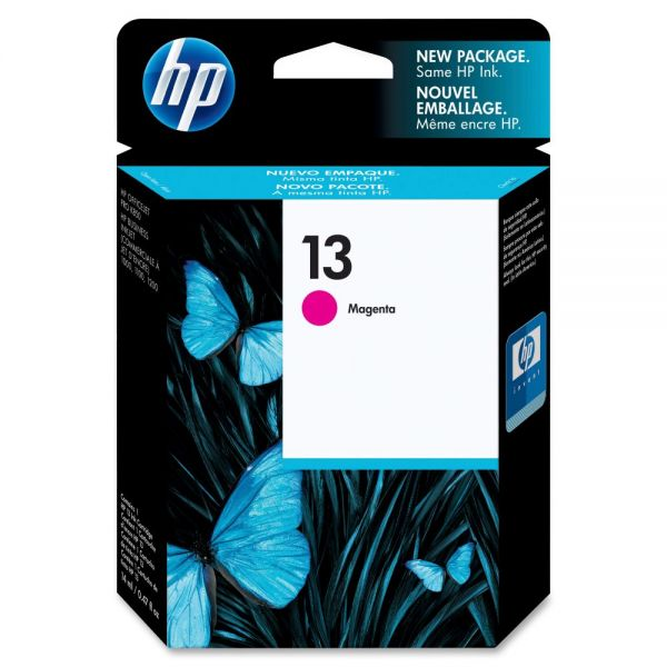 HP 13 Magenta Ink Cartridge (C4816A)