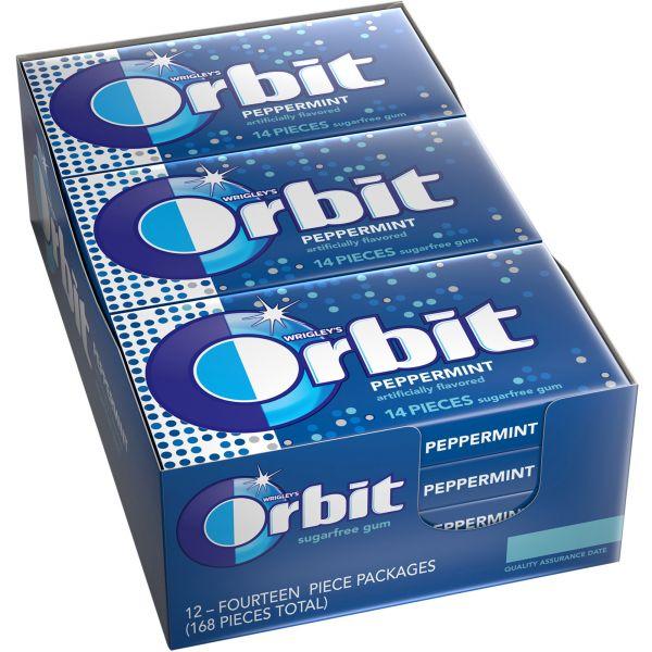 Orbit Peppermint Sugar-Free Gum