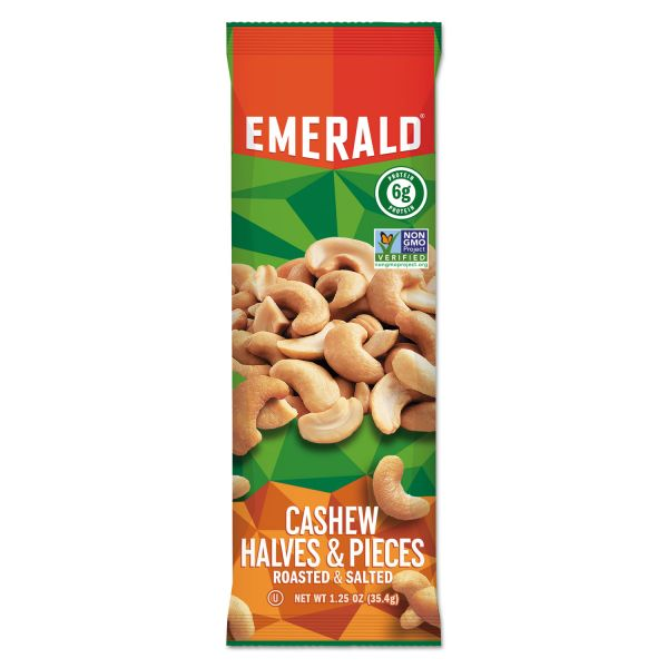 Emerald Cashew Halves & Pieces