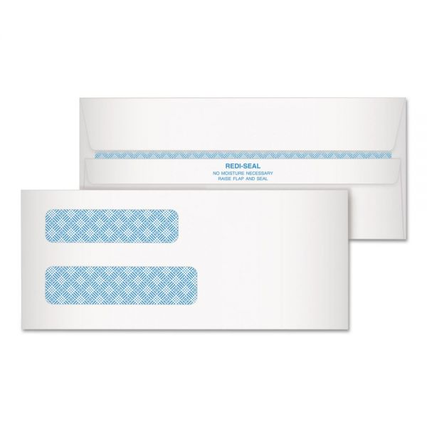 Quality Park Double Window Tinted Envelopes