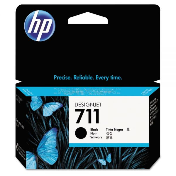 HP HP 711, (CZ129A) Black Original Ink Cartridge