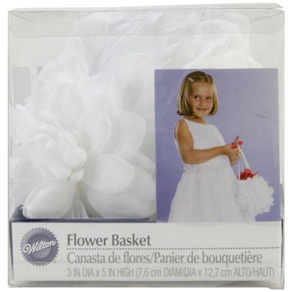 "Wedding Flower Basket 3""X5"""