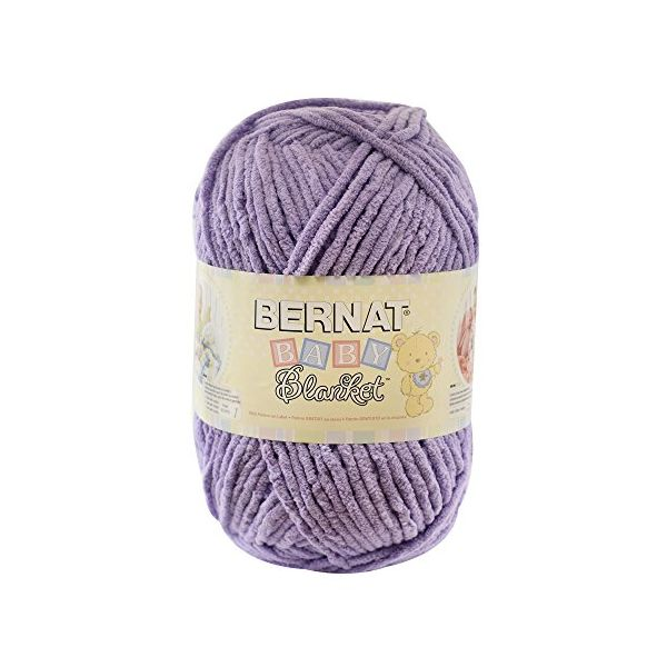 Bernat Baby Blanket Big Ball Yarn - Baby Lilac
