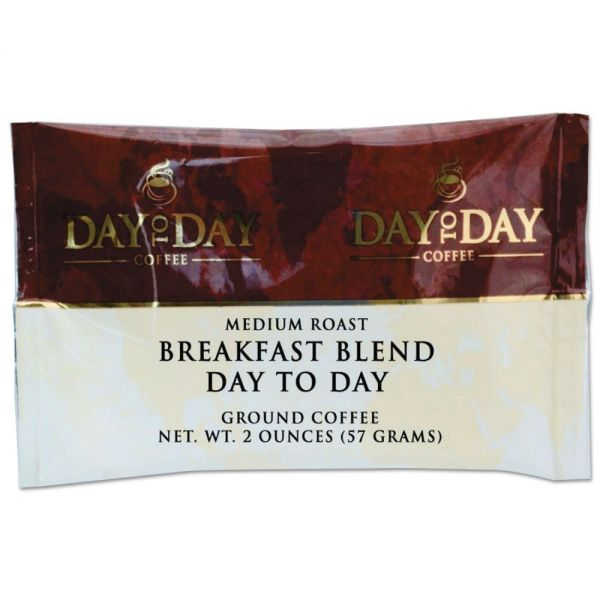 Day to Day Coffee 100% Pure Breakfast Blend Coffee Packs