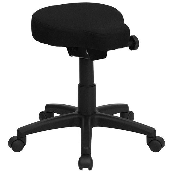Flash Furniture Saddle-Seat Utility Stool