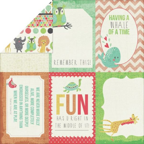 Hello Sunshine Double-Sided Cardstock