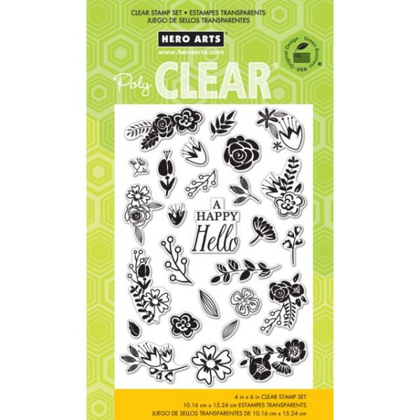 """Hero Arts Clear Stamps 4""""X6"""" Sheet"""