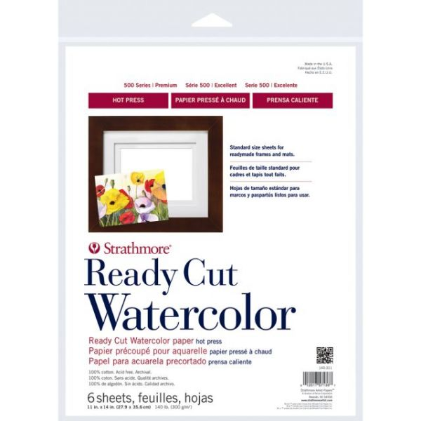"Strathmore Watercolor Paper Pack 11""X14"""