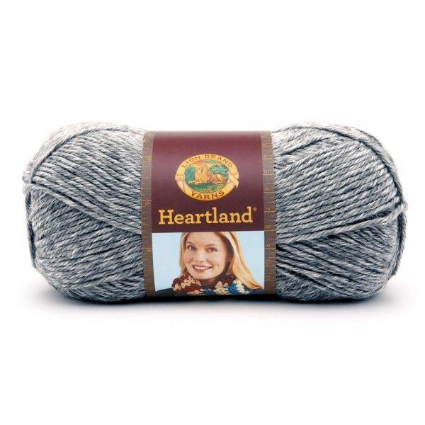 Lion Brand Heartland Yarn - Mount Rainier