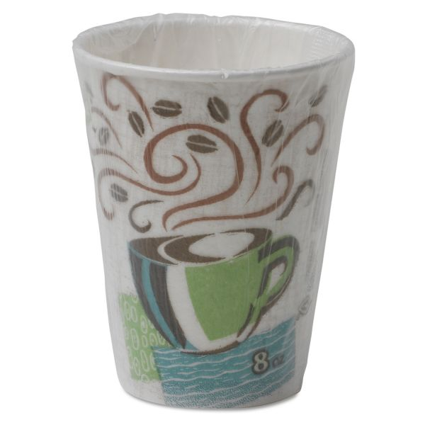 Dixie PerfecTouch Individually Wrapped 8 oz Coffee Cups