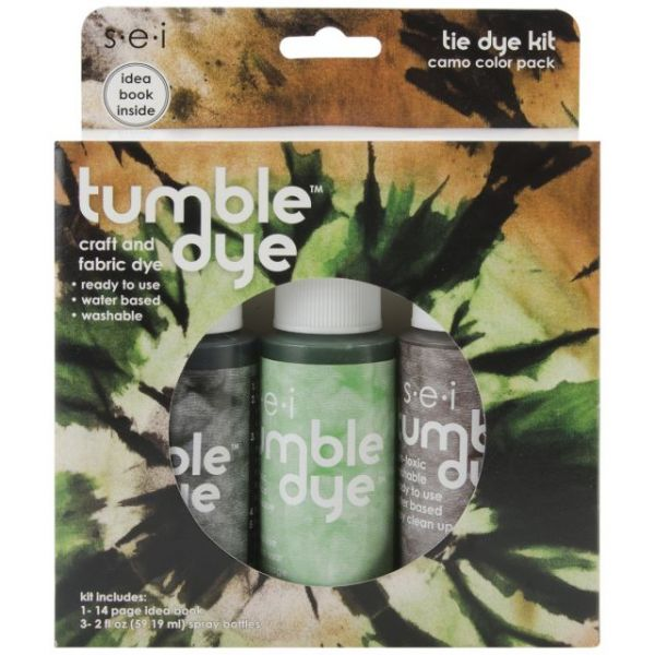 Tumble Dye Craft & Fabric Tie-Dye Kit 2oz 3/Pkg