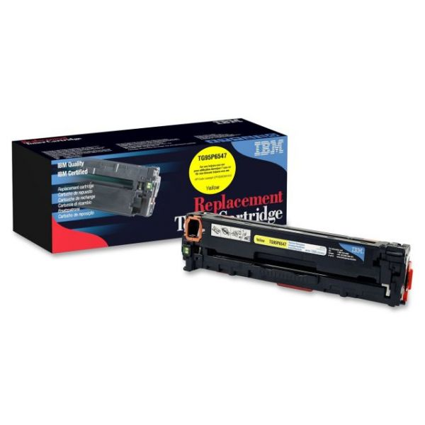 IBM Remanufactured HP CE322A Yellow Toner Cartridge