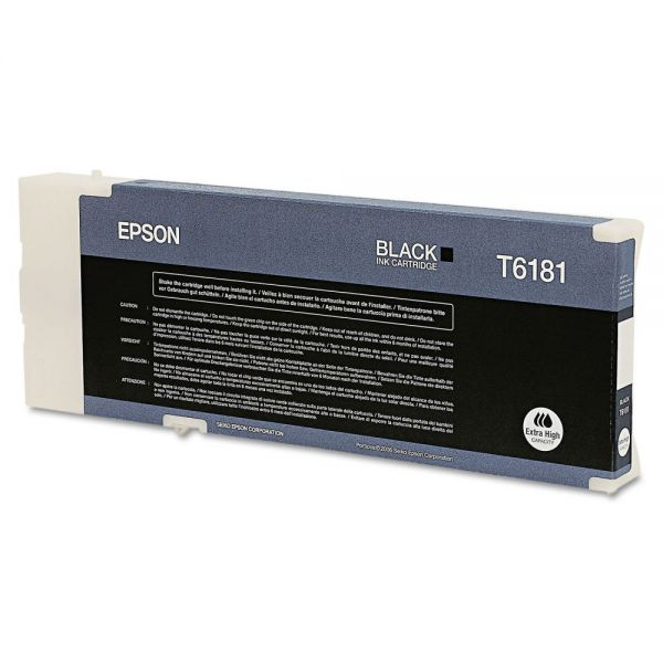 Epson T618100 Extra High Yield Black Ink Cartridge