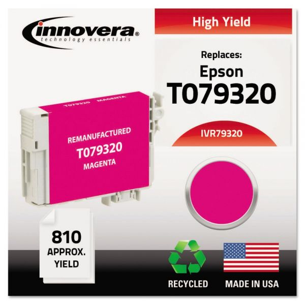 Innovera Remanufactured Epson T079320 High-Yield Ink Cartridge