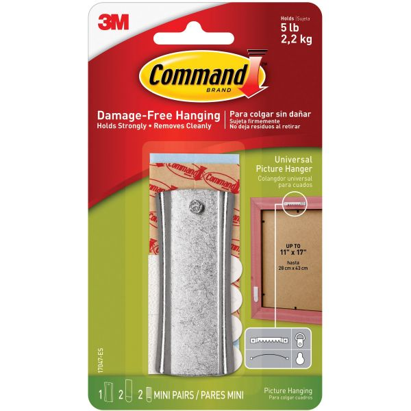 Command Sticky Nail Sawtooth Picture Hanger Kit