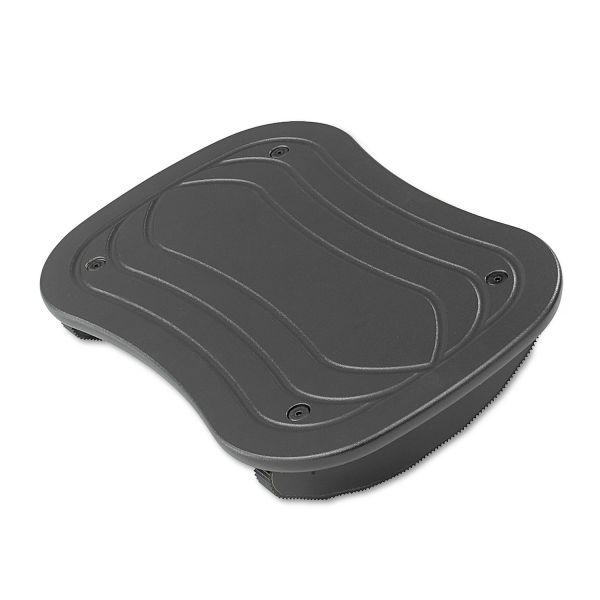Safco Foot Rocker Footrest, 17-1/2w x 11-1/2d x 3-1/2h, Black
