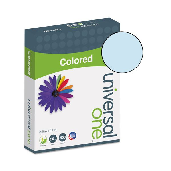 Universal One Premium Colored Paper - Blue