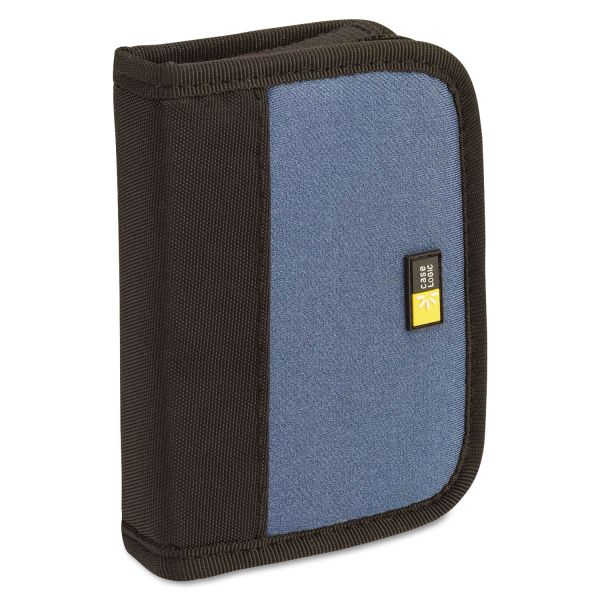 Case Logic Media Shuttle, Holds 6 USB Drives, Blue