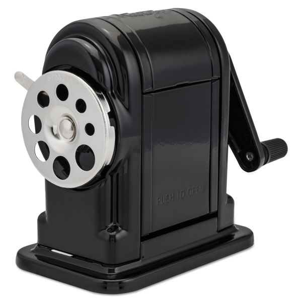 X-ACTO Ranger 55 Classroom Manual Pencil Sharpener, Black