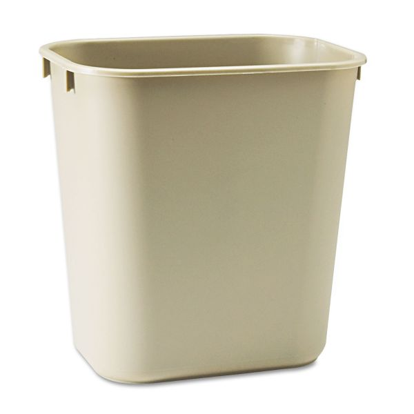 Rubbermaid Deskside 3.41 Gallon Trash Can
