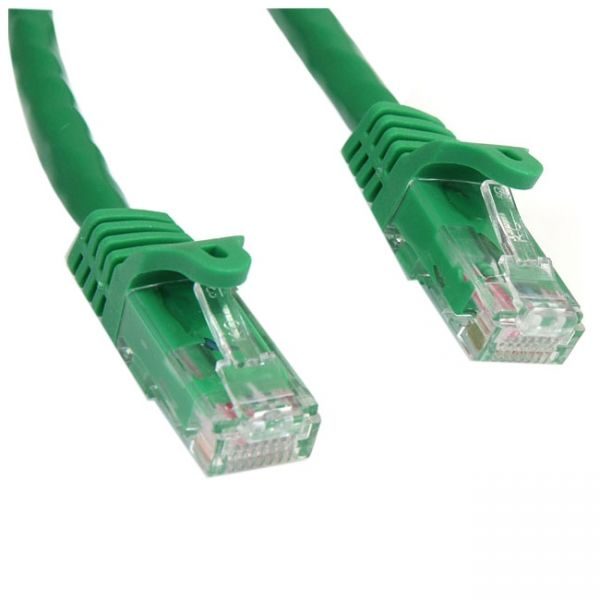 StarTech.com 100 ft Green Snagless Cat6 UTP Patch Cable