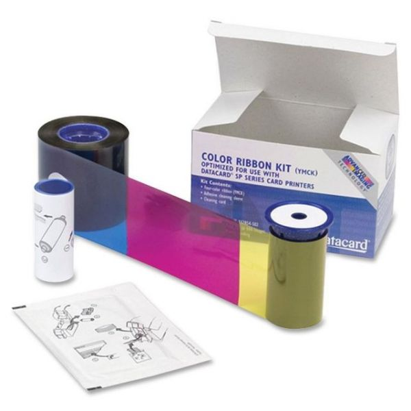 Datacard 534000 002 Color Ribbon & Cleaning Kit YMCKT 250 prints